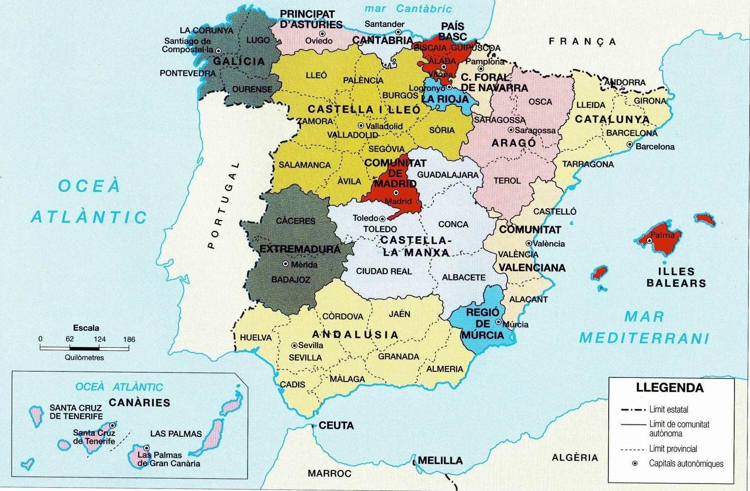 2 4 1 Espanya Fisica I Politica Un Mon De Recursos Socials
